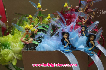 TINKERBELL AND FRIENDS HEADBAND