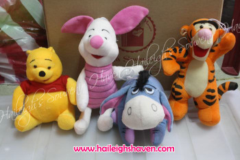 POOH AND FRIENDS STUFFED TOY