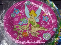 PAPER PLATES  [10s]: TINKERBELL