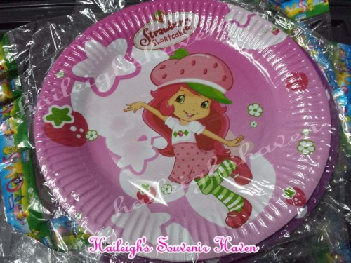 PAPER PLATES [10s]: STRAWBERRY SHORTCAKE