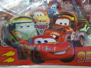 PARTY HATS (Die-Cut, 10s): DISNEY CARS