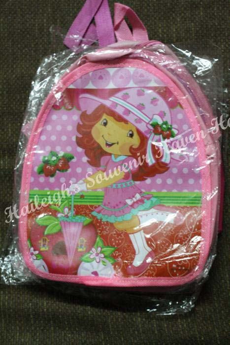 BACKPACK: STRAWBERRY SHORTCAKE (Small)