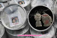 KEY CHAINS: BRIDE AND GROOM