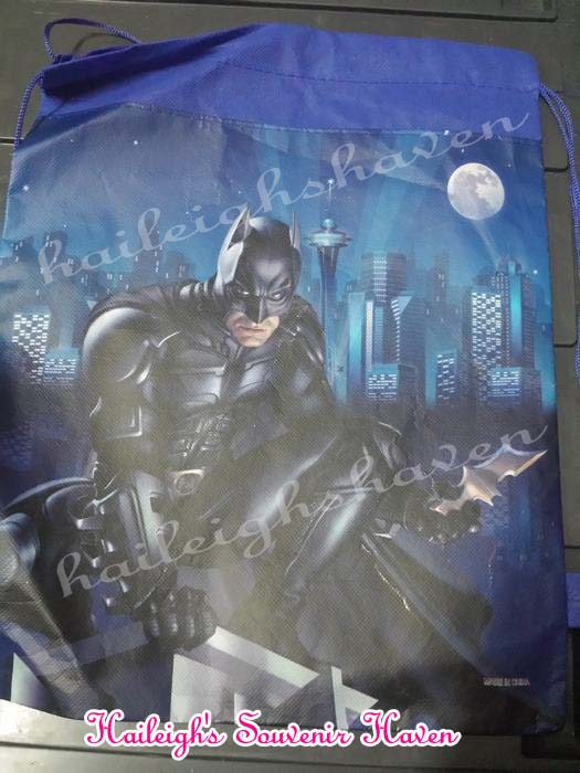 DRAWSTRING BAG (BIG): BATMAN