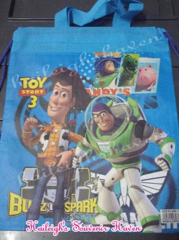 DRAWSTRING BAG (BIG, 12s): TOY STORY