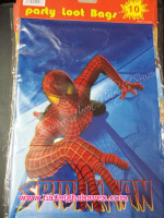 LOOT BAGS (SMALL): SPIDERMAN