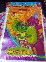 LOOT BAGS (SMALL): BARNEY AND FRIENDS