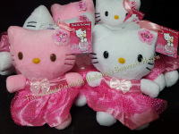STUFFED TOY (SEATED): HELLO KITTY