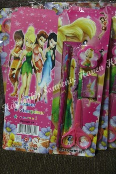 PENCIL SET (12s): TINKERBELL
