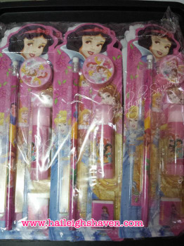 PENCIL SET (12s): DISNEY PRINCESS