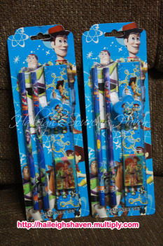 PENCIL SET (12s): TOY STORY