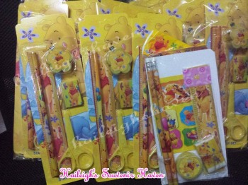 PENCIL SET (12s): POOH