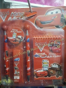 STATIONERY SET (6-IN-1): DISNEY CARS