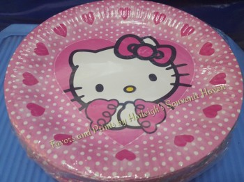 PAPER PLATES [10s]: HELLO KITTY
