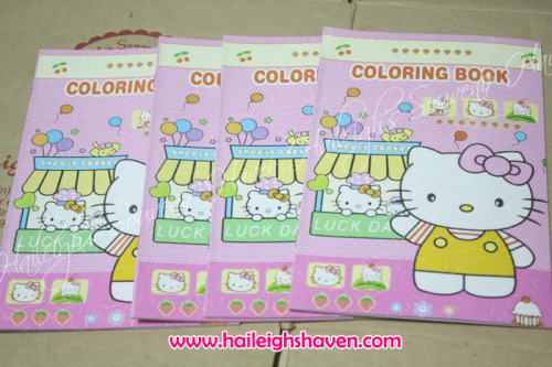 COLORING BOOK (BIG): Hello Kitty