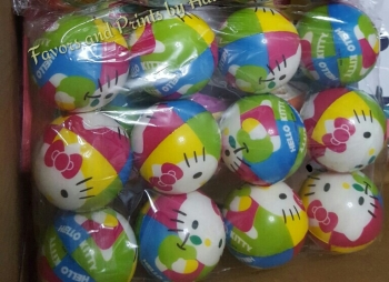 STRESS BALLS (12s): HELLO KITTY
