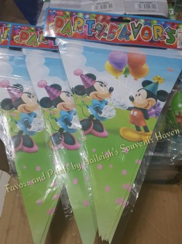 FLAG BANNER / BANDERITAS: MICKEY ONLY (or WITH FRIENDS)