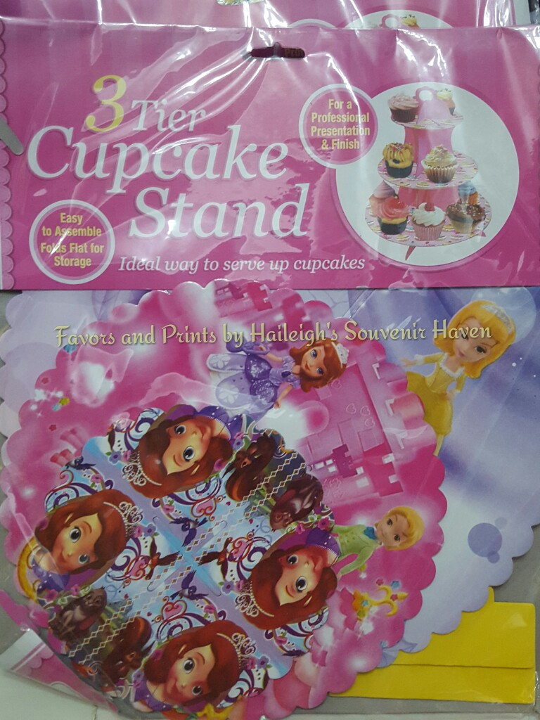 CUPCAKE STAND [3 layers]: SOFIA THE FIRST