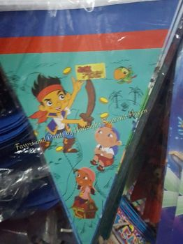 FLAG BANNERS / BANDERITAS: JAKE AND THE NEVERLAND PIRATES