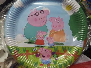 PAPER PLATES [10s]: PEPPA PIG
