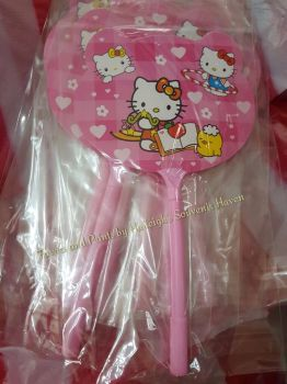 PEN FAN (12s): HELLO KITTY