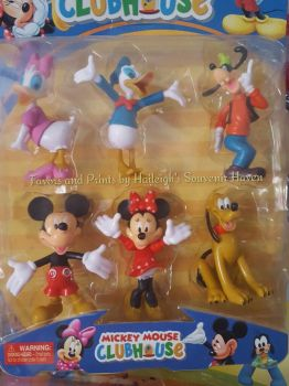 CAKE TOPPER TOY SET - MICKEY AND FRIENDS SET #3