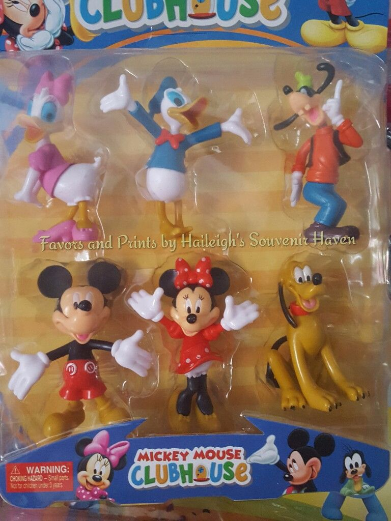 Mickey Mouse and Friends Cake Topper Toy Set #3