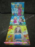 PUZZLE SET(3-IN-1): BARBIE