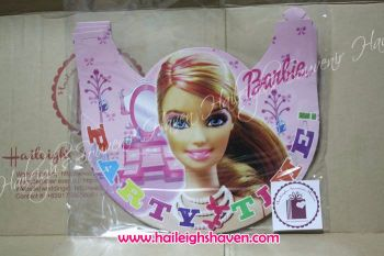 PARTY HATS (Regular, 10s): BARBIE