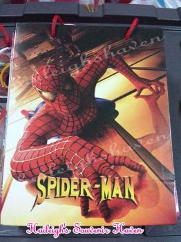PAPER BAG (MEDIUM): SPIDERMAN