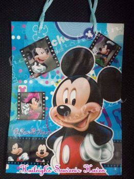 PAPER BAG (MEDIUM): MICKEY AND FRIENDS