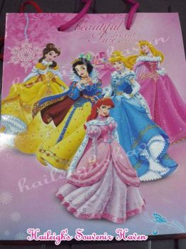 PAPER BAG (MEDIUM): DISNEY PRINCESS