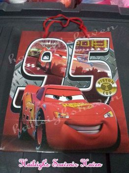 PAPER BAG (MEDIUM): DISNEY CARS