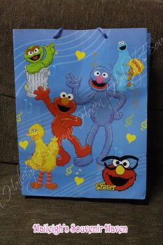 PAPER BAG (BIG): SESAME STREET