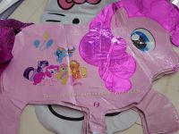 BALLOON (FOIL, DIE-CUT, 10s): LITTLE PONY