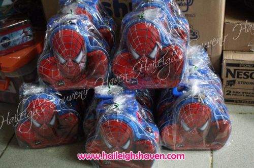 COIN BANK (TIN): SPIDERMAN