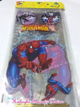 LOOT BAGS (LONG, NO HANDLE): SPIDERMAN