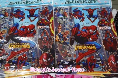 LASER STICKER: SPIDERMAN