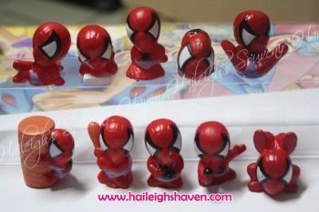 PENCIL TOPPER SET: SPIDERMAN (10s)