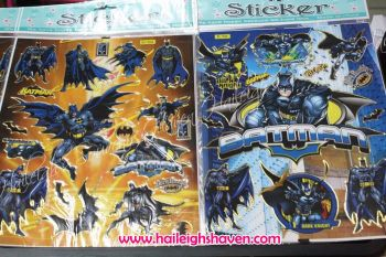 LASER STICKER (10s): BATMAN