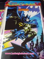 LOOT BAGS (SMALL): BATMAN