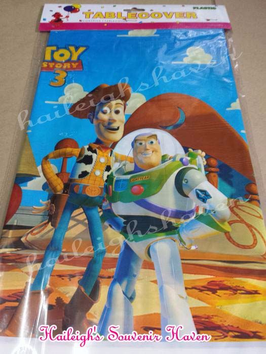 PLASTIC TABLE COVER: TOY STORY