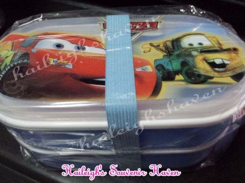 LUNCH BOX: DISNEY CARS