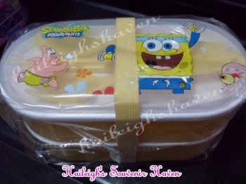 LUNCH BOX: SPONGEBOB (PRE-ORDER)