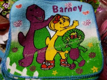 FACE TOWEL (12s): BARNEY