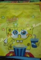 DRAWSTRING BAG (BIG, 12s): SPONGEBOB