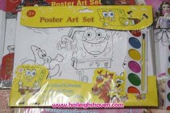 POSTER ART SET: SPONGEBOB