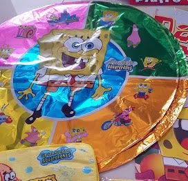 BALLOON (FOIL): SPONGEBOB