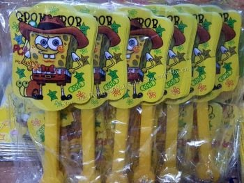 FOLDING FAN (12s): SPONGEBOB