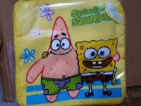 FACE TOWEL(12s): SPONGEBOB